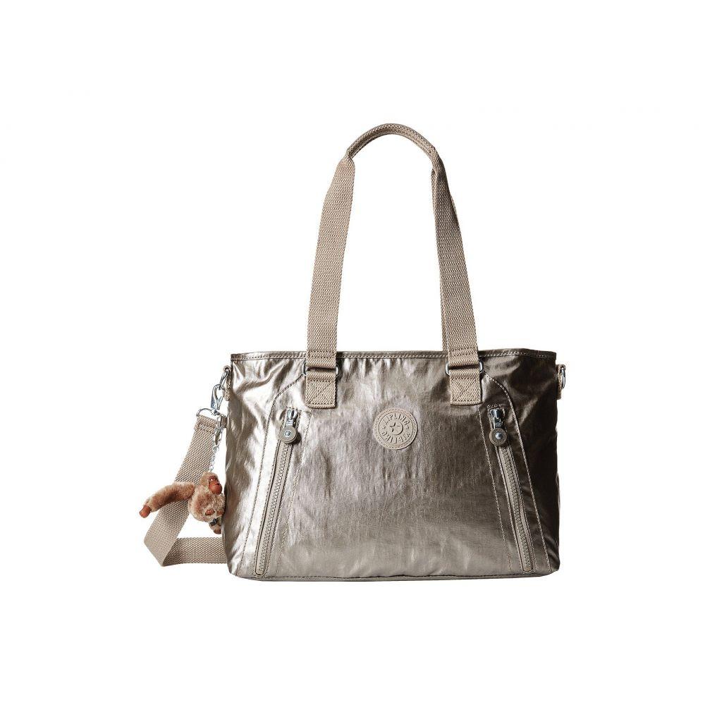 キプリング Kipling レディース バッグ ショルダーバッグ【Angela Medium Shoulder Bag】Metallic Pewter