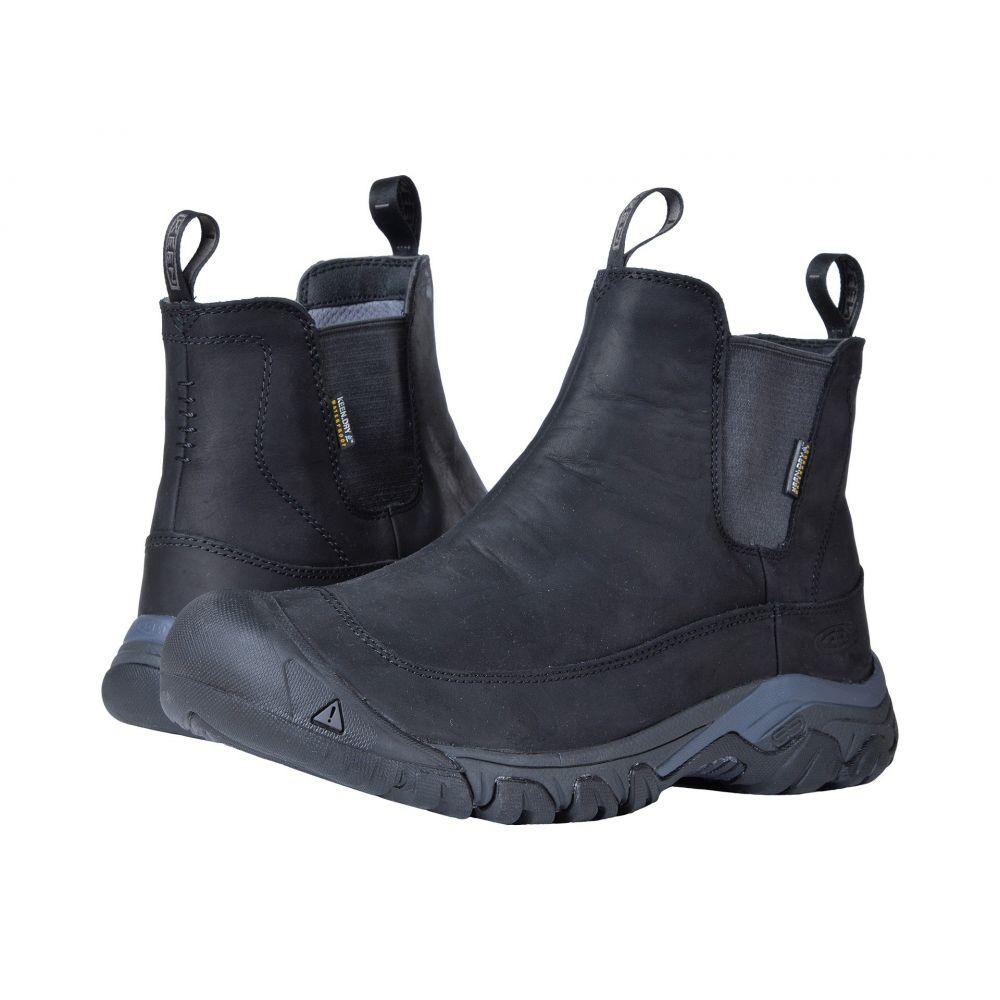 キーン Keen メンズ シューズ Boot・靴 III ブーツ【Anchorage メンズ Boot III Waterproof】Black/Raven, ノイント:2be4317b --- 2017.goldenesbrett.net