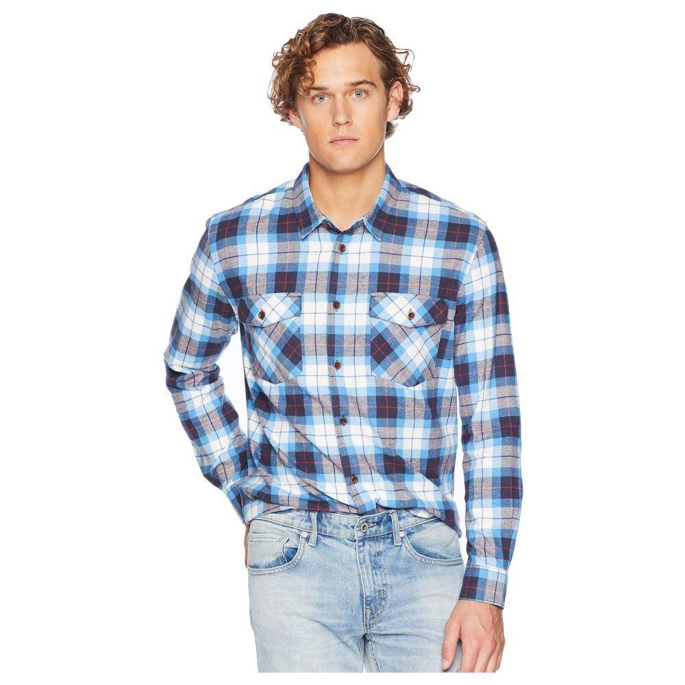 クイックシルバー Quiksilver Waterman メンズ トップス シャツ【Wade Creek Long Sleeve Flannel Shirt】Parisian Night
