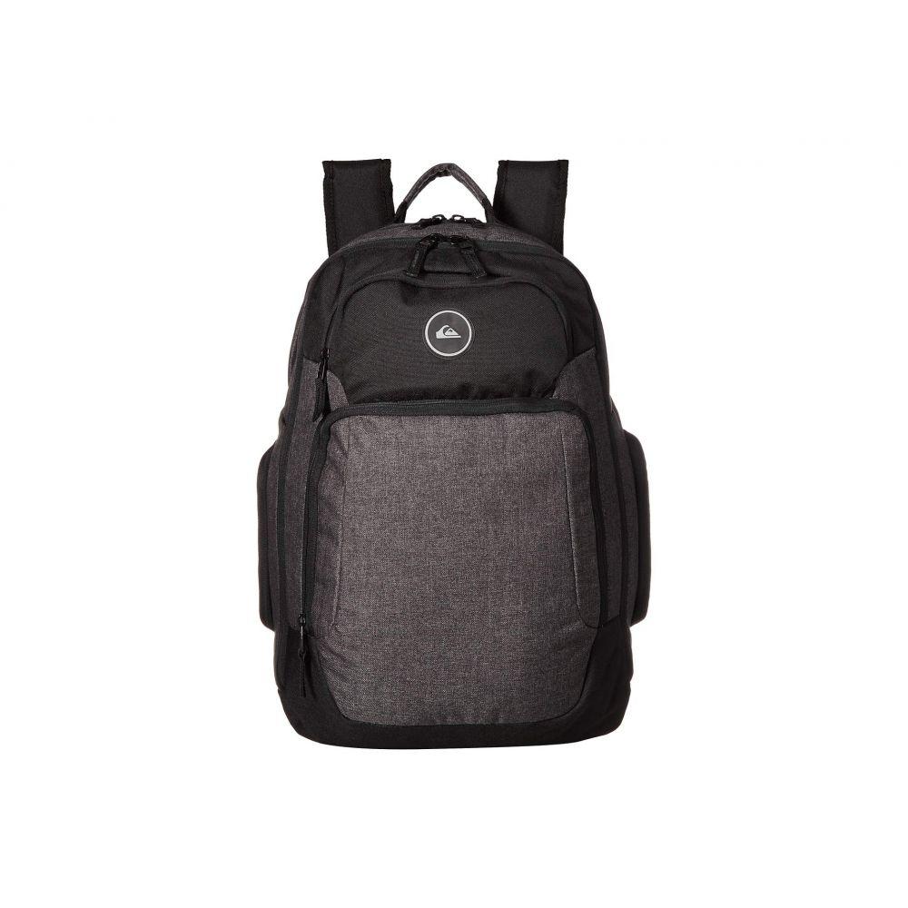 クイックシルバー Quiksilver メンズ バッグ バックパック・リュック【Shutter Backpack】Black Heather/Black