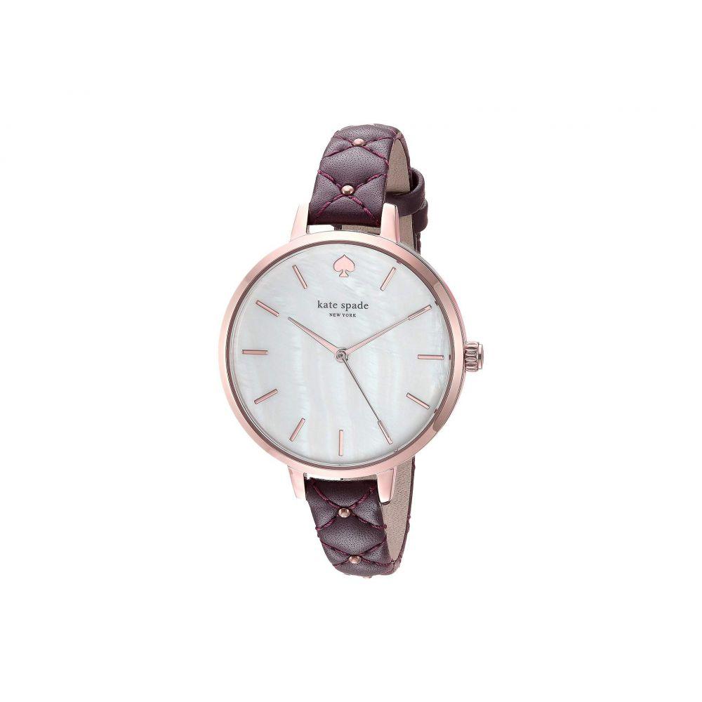 ケイト スペード Kate Spade New York メンズ 腕時計【Metro - KSW1489】Purple