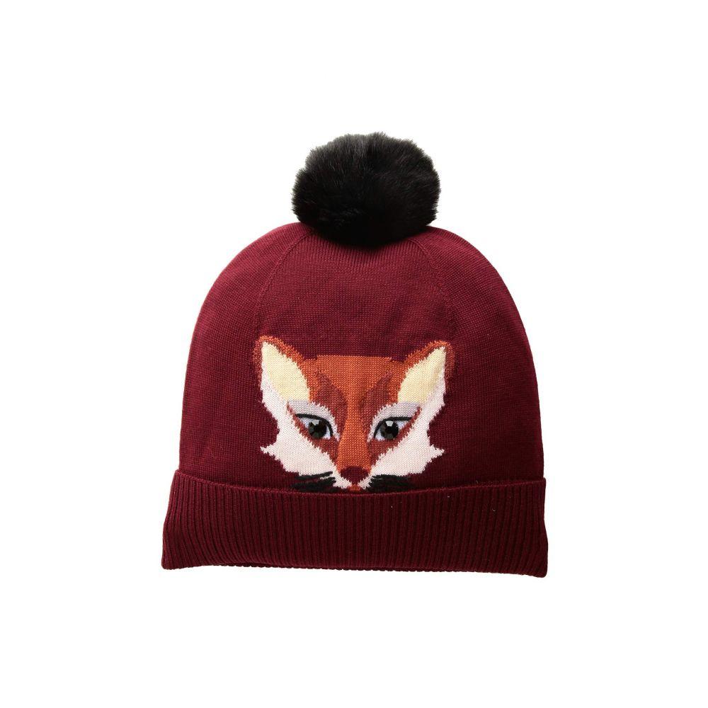 ケイト スペード Kate Spade New York レディース 帽子 ニット【Foxy Beanie】Deep Russet