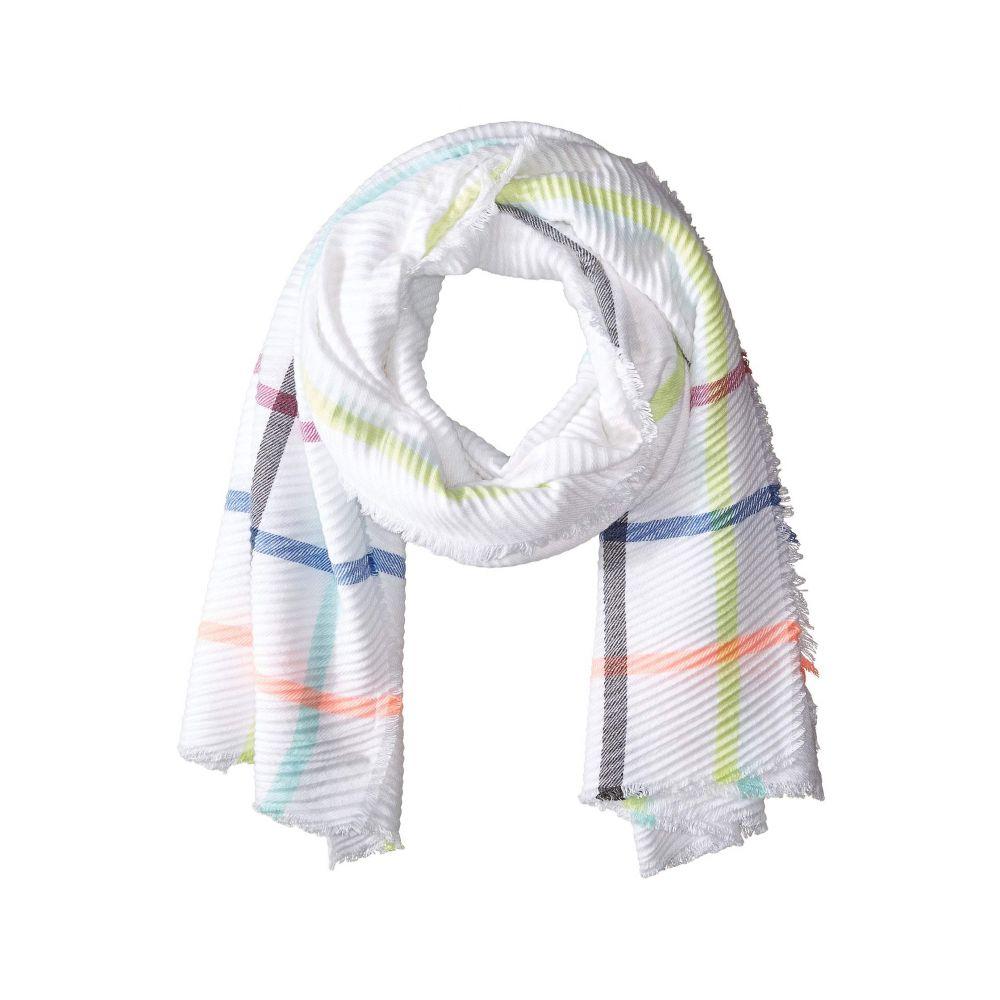 コレクション XIIX Collection XIIX レディース マフラー・スカーフ・ストール【Rainbow Stripe Wrap】Bright Multi