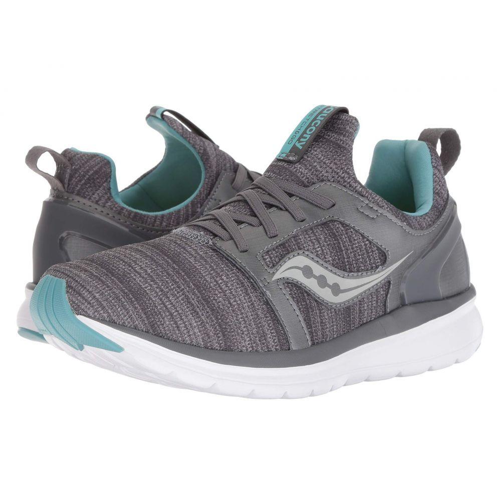 サッカニー Saucony レディース ランニング・ウォーキング シューズ・靴【Stretch & Go Ease】Grey/Mint