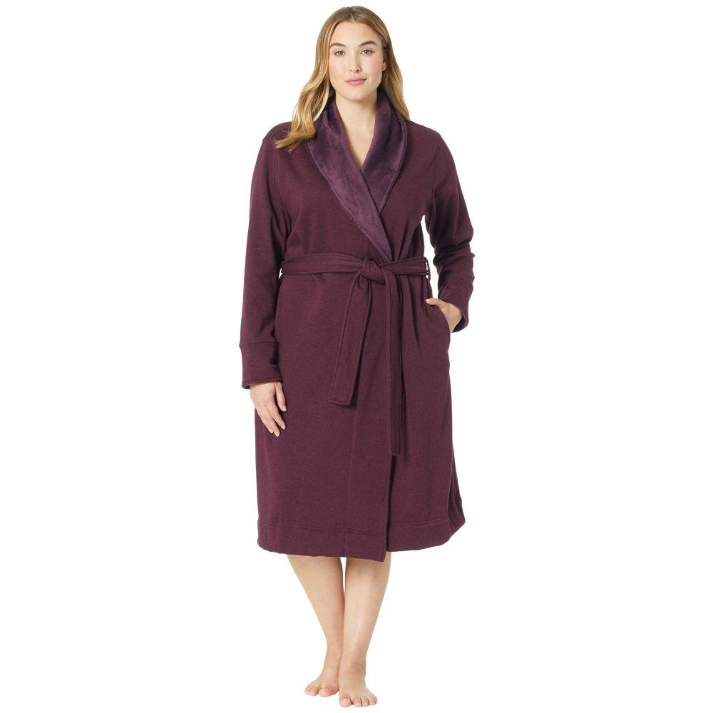 アグ UGG レディース インナー・下着 ガウン・バスローブ【Plus Size Duffield II Robe】Port Heather
