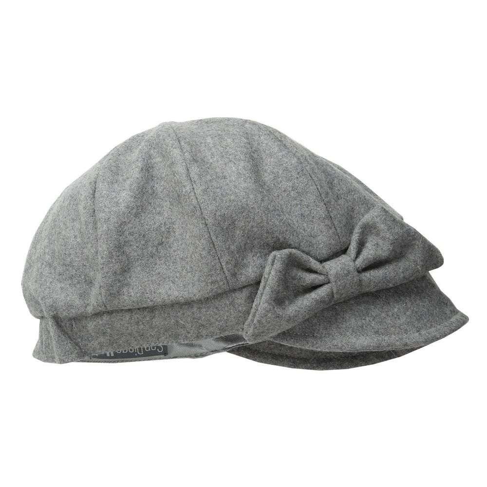 サンディエゴハット San Diego Hat Company レディース 帽子【SDH3404 Wool Cap with Self Fabric Bow】Grey