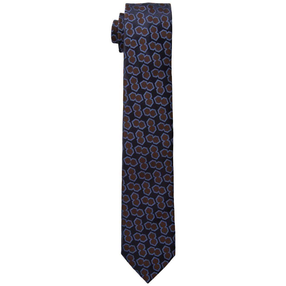 ジーゼニア Z Zegna メンズ ネクタイ【Hexagon Tie Z2C32】Blue