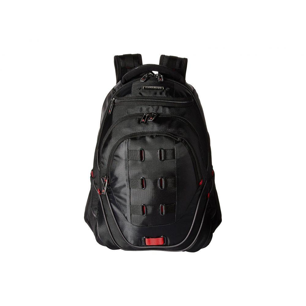 サムソナイト Samsonite レディース バッグ パソコンバッグ【Tectonic 2 Perfect Fit 17' Laptop Backpack】Black/Red