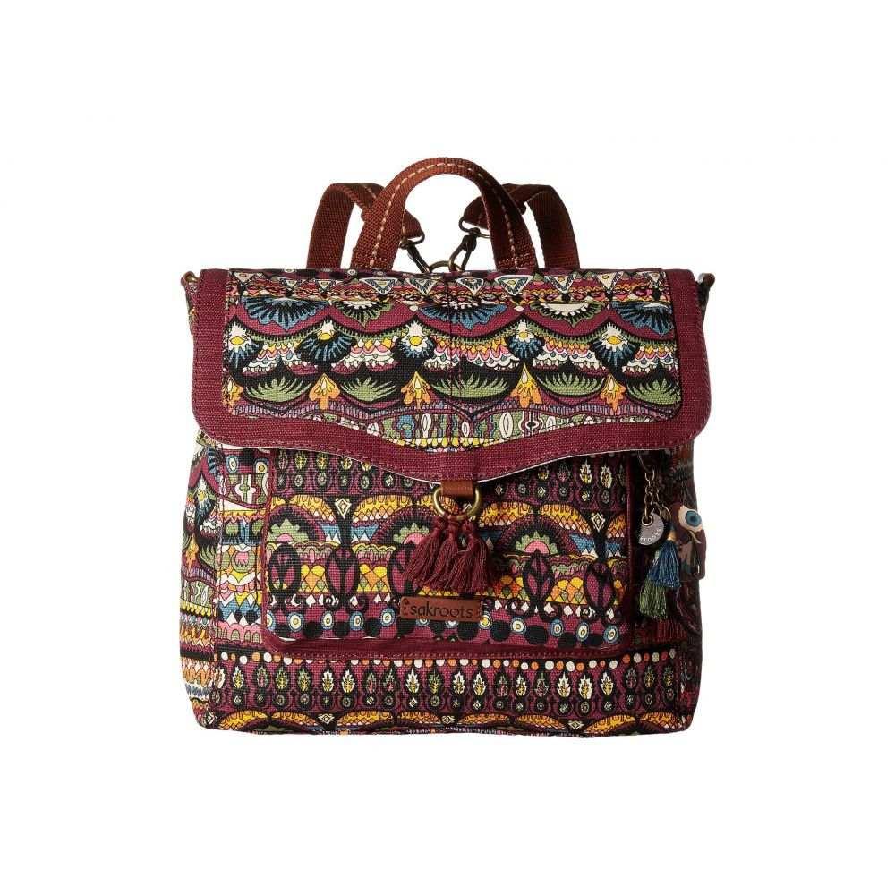 サックルーツ Sakroots レディース バッグ バックパック・リュック【Colette Convertible Backpack】Mulberry One World
