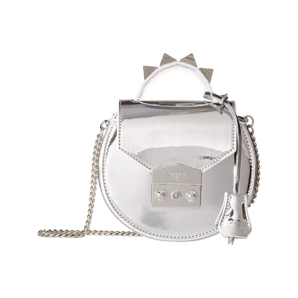サラ Salar レディース バッグ ショルダーバッグ【Carol Metallic Spiked Bag】Silver