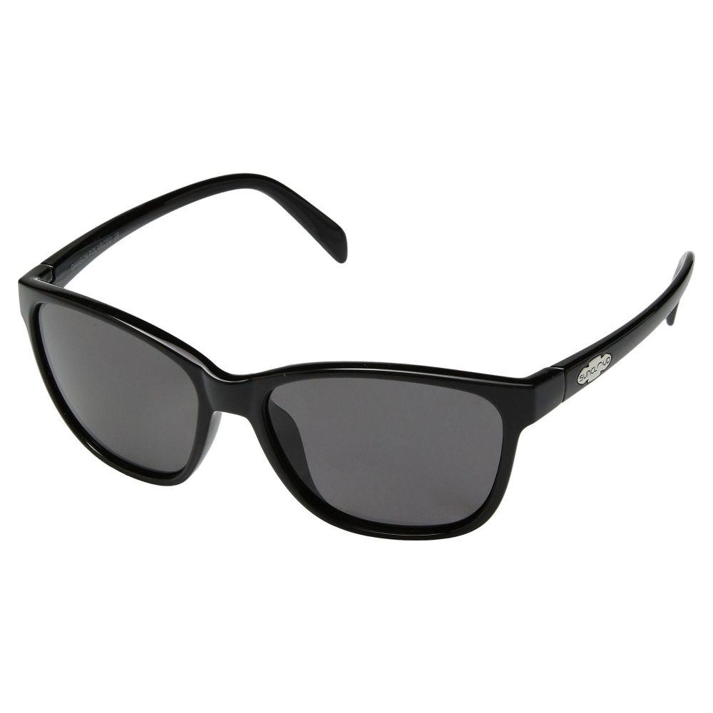 サンクラウド SunCloud Polarized Optics レディース メガネ・サングラス【Dawson】Black/Polarized Gray Polycarbonate Lens