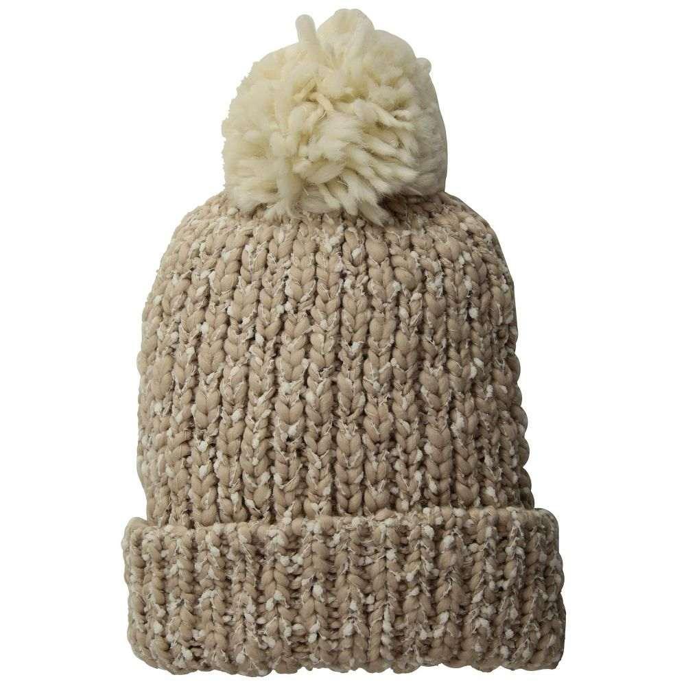 サンディエゴハット San Diego Hat Company レディース 帽子 ニット【KNH3538 Chunky Knit Cuff Beanie with Pom】Rose