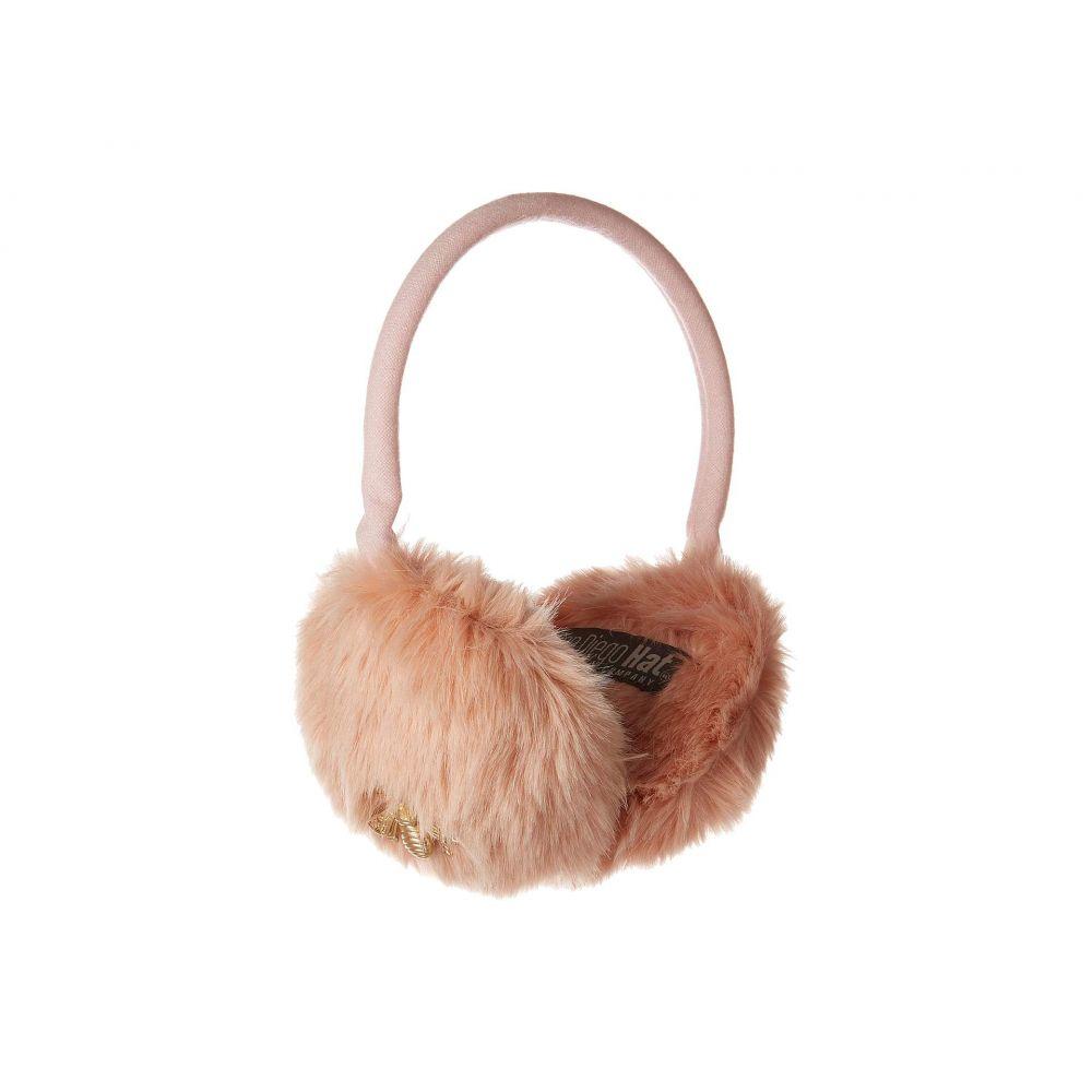 25cabca4c7eb Bee】Blush Gold with Muffs Ear Adjustable Fur Fuax ファッション小物【CTH8152 レディース  Company Hat Diego San サンディエゴハット-ネクタイ