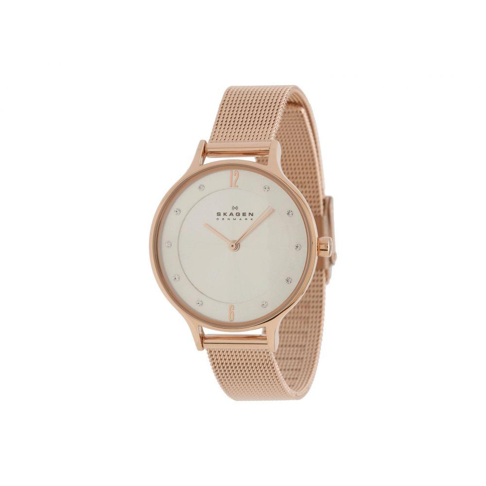 スカーゲン Skagen レディース 腕時計【Albuen】Rose Gold