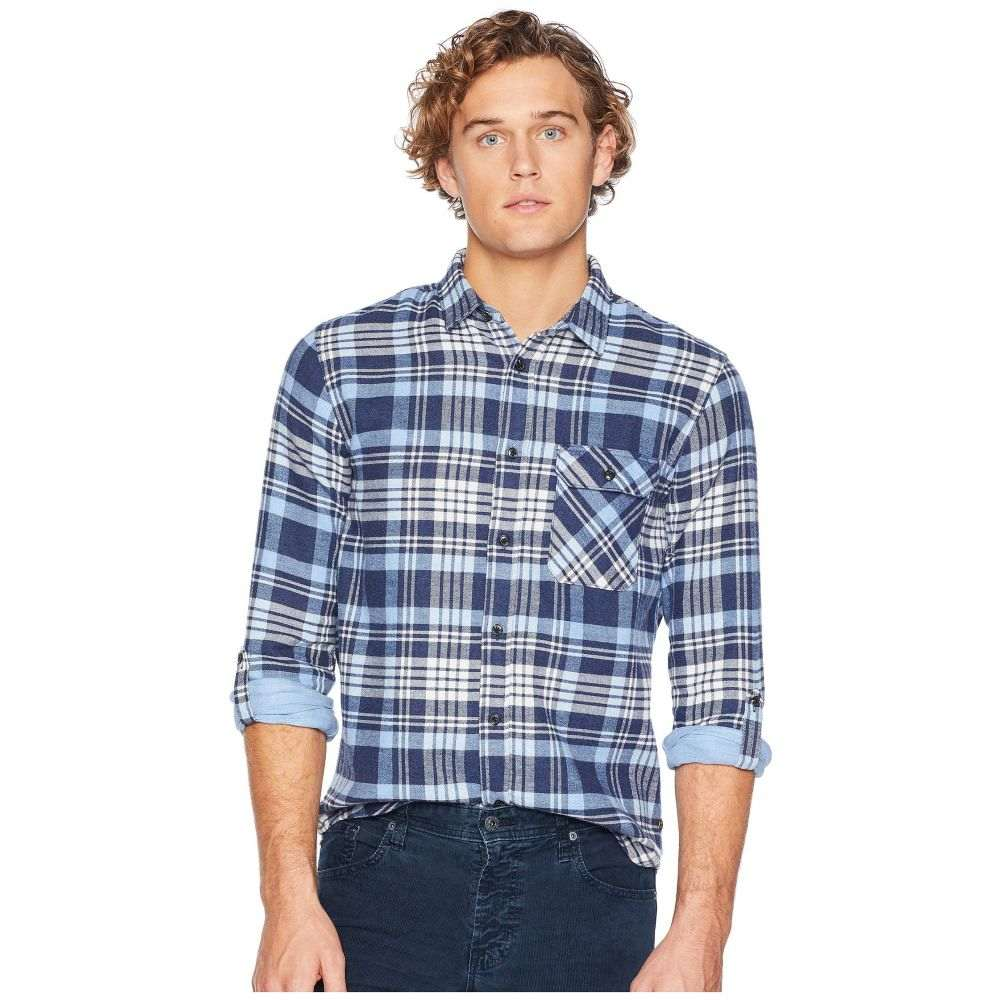 スコッチ&ソーダ Scotch & Soda メンズ トップス シャツ【Regular Fit Brushed Check Shirt w/ Tonal Inside】Combo B