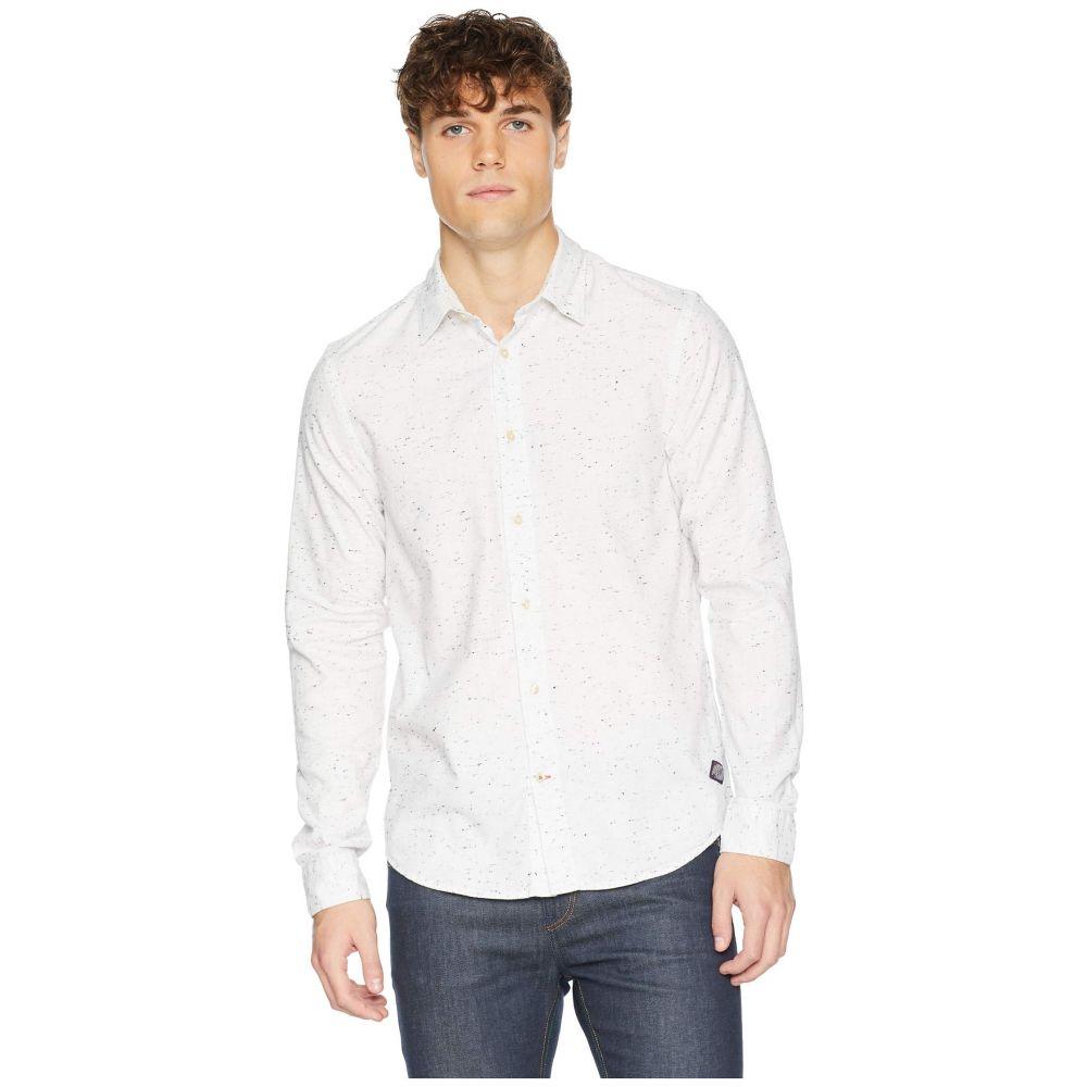 スコッチ&ソーダ Scotch & Soda メンズ トップス シャツ【Regular Fit Classic Shirt in Neppy Quality】Denim White