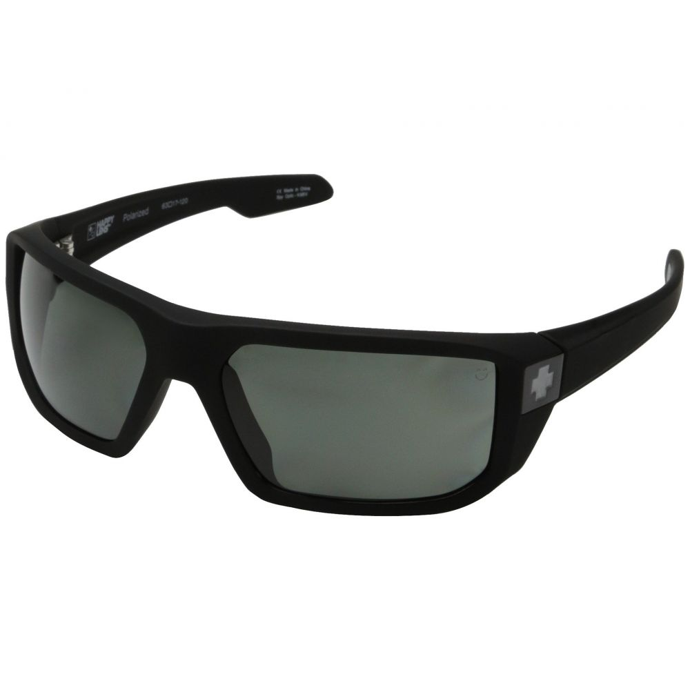 スパイ Spy Optic レディース スポーツサングラス【McCoy】Soft Matte Black/Happy Gray Green Polar
