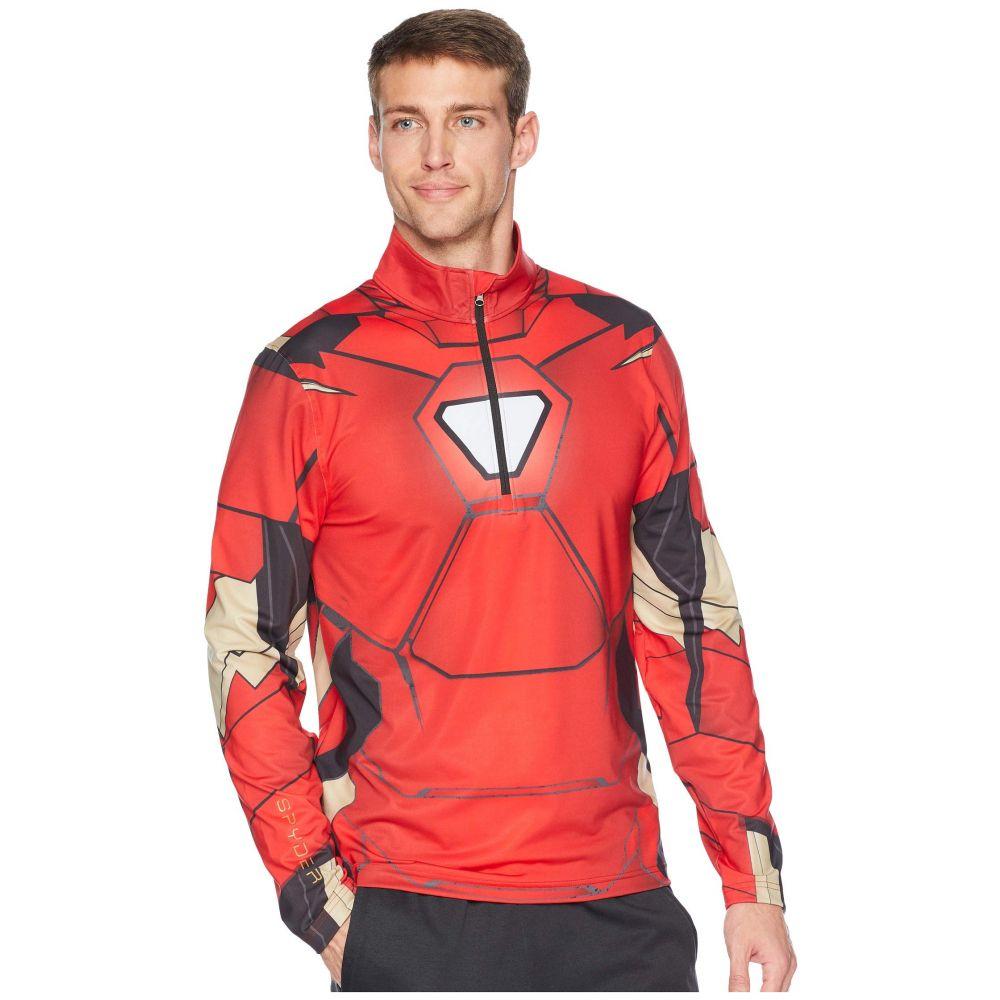 スパイダー Spyder メンズ トップス【Marvel Tech 1/4 Zip】Red/Ironman
