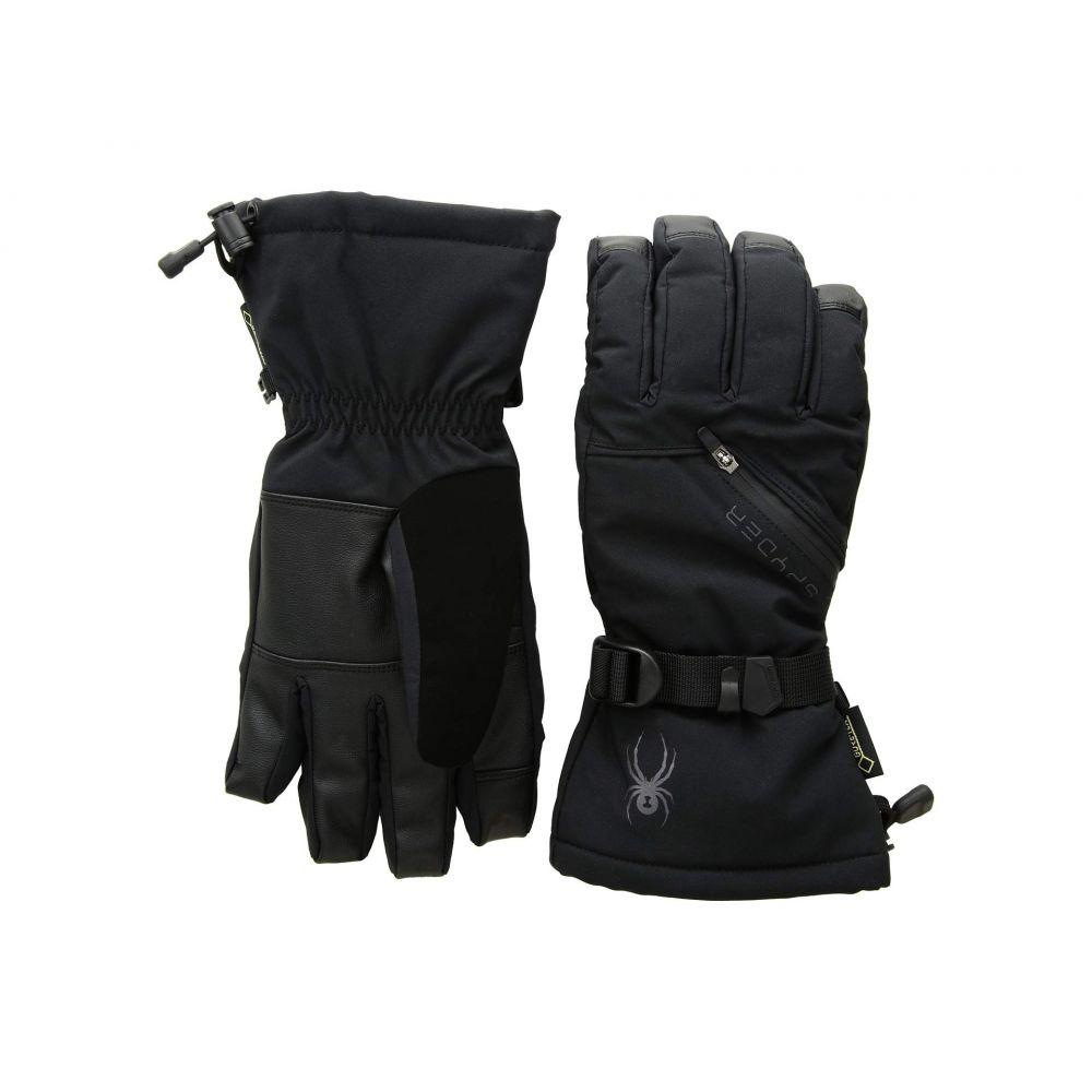 スパイダー Spyder メンズ スキー・スノーボード グローブ【Vital 3-in-1 Gore-Tex Ski Gloves】Black/Black/Black