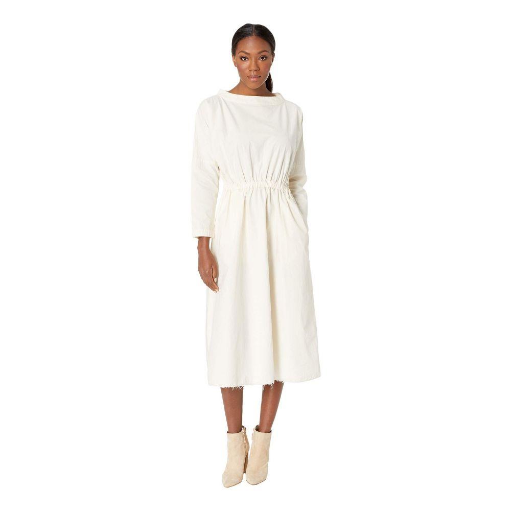 スノーピーク Snow Peak レディース ワンピース・ドレス ワンピース【Organic Cotton Shirring Dress】Ecru