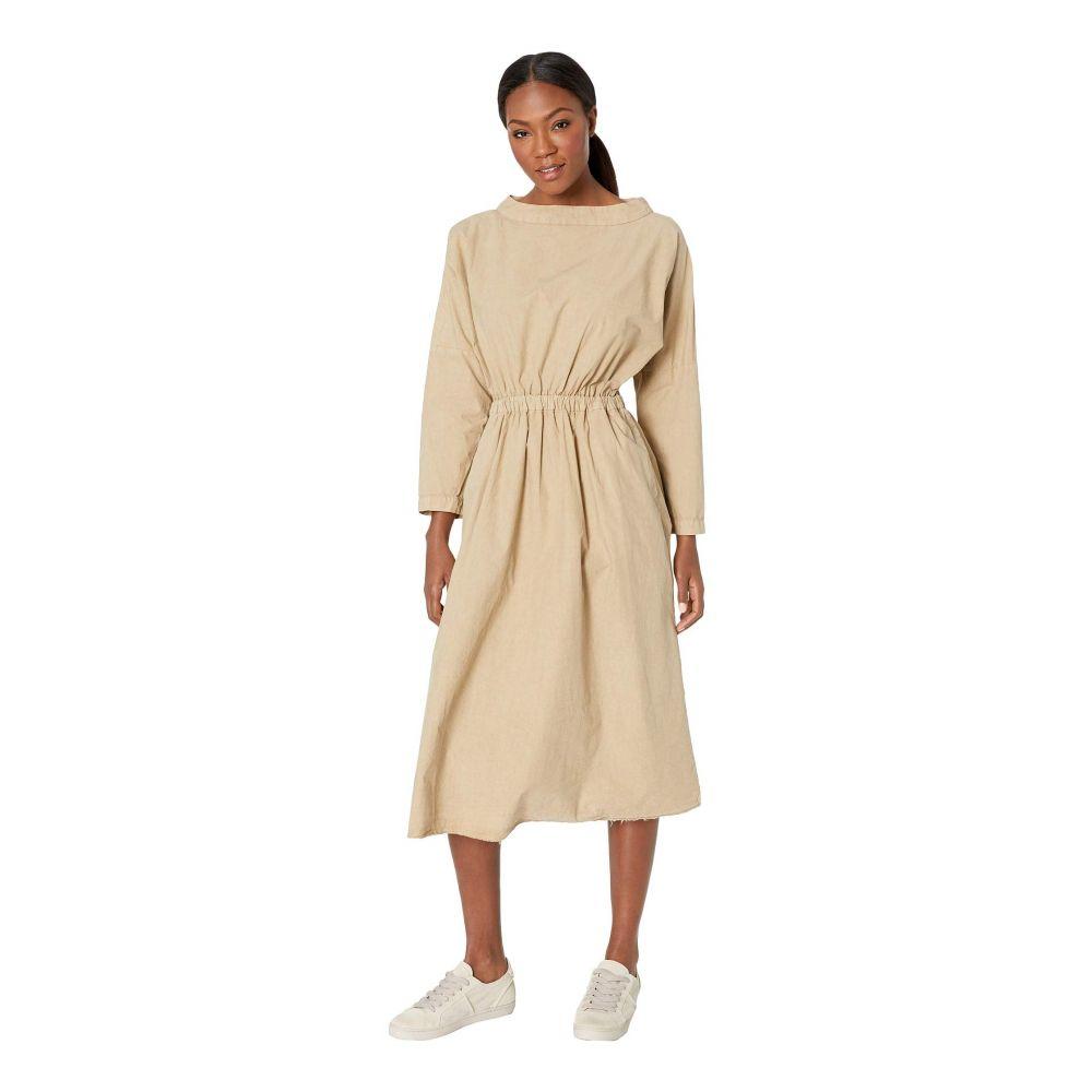 スノーピーク Snow Peak レディース ワンピース・ドレス ワンピース【Organic Cotton Shirring Dress】Beige
