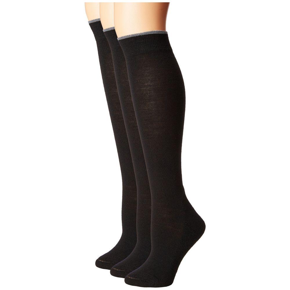 スマートウール Smartwool レディース インナー・下着 ソックス【Basic Knee High 3-Pack】Black