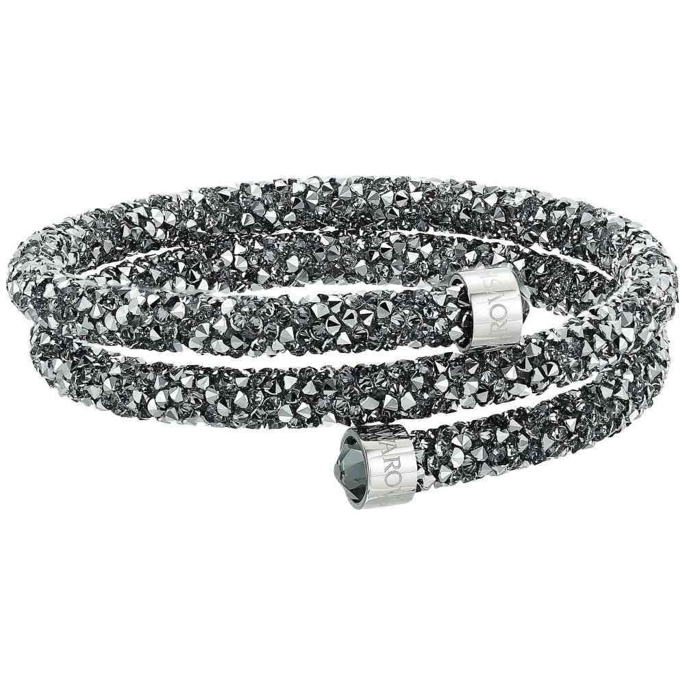 スワロフスキー Swarovski レディース ジュエリー・アクセサリー ブレスレット【Crystaldust Bangle Bracelet】Grey