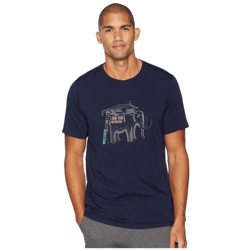 スマートウール Smartwool メンズ トップス Tシャツ【Merino 150 Mobile Mammoth Tee】Deep Navy