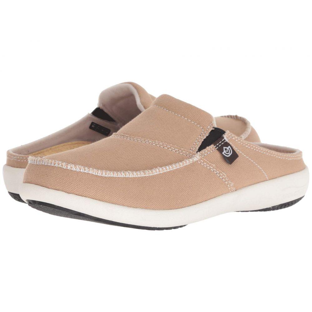 スペンコ Spenco レディース シューズ・靴 ローファー・オックスフォード【Siesta Solstice Slide】Tan
