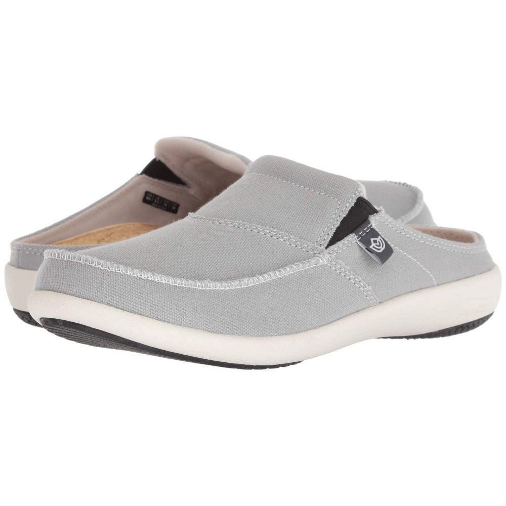 スペンコ Spenco レディース シューズ・靴 ローファー・オックスフォード【Siesta Solstice Slide】Grey