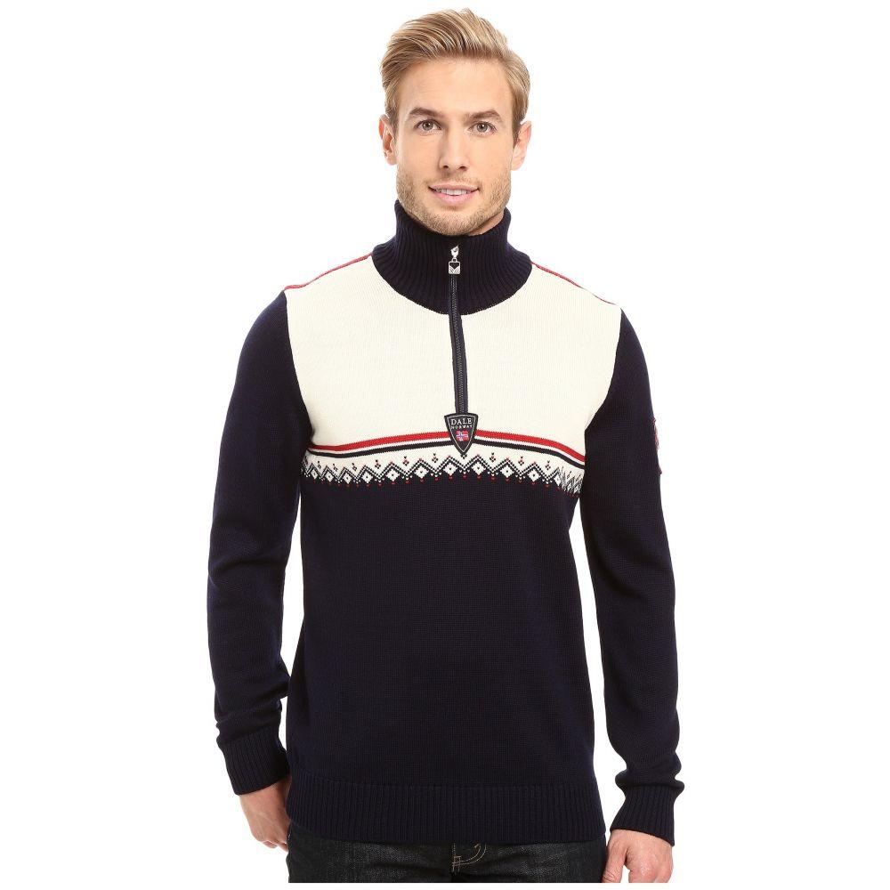 ダーレ オブ ノルウェイ Dale of Norway メンズ トップス ニット・セーター【Lahti Sweater】Navy/Raspberry