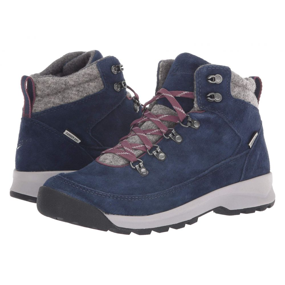 ダナー Danner レディース ハイキング・登山 シューズ・靴【Adrika Hiker Wool】Navy