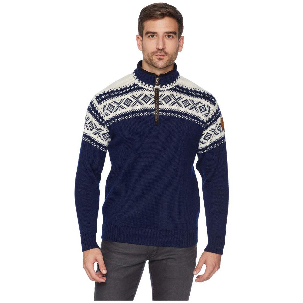 ダーレ オブ ノルウェイ Dale of Norway メンズ トップス ニット・セーター【Cortina 1/2 Zip Sweater】C-Light Navy/Off-White