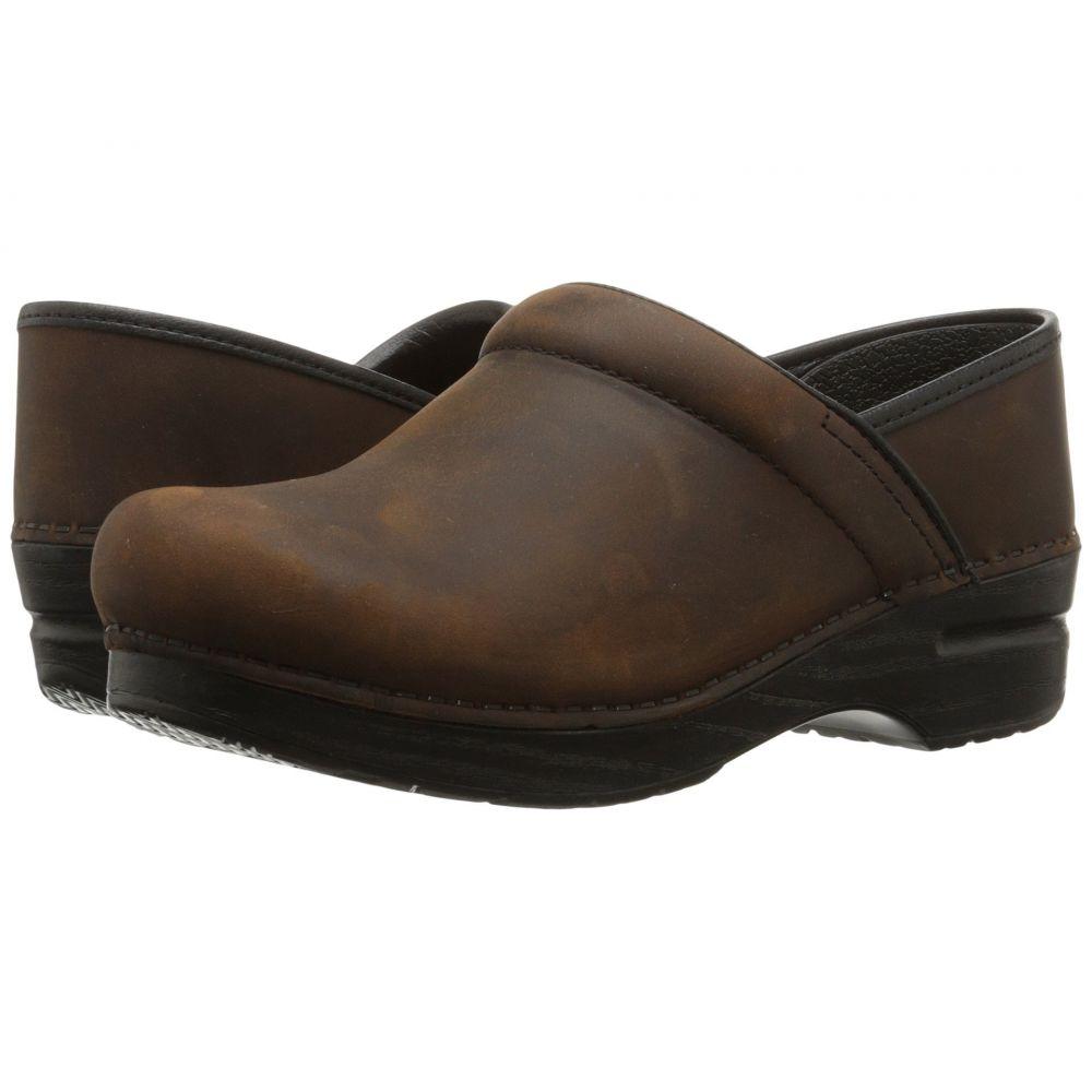 ダンスコ Dansko レディース シューズ・靴【Professional】Antique Brown/Black Oiled Leather