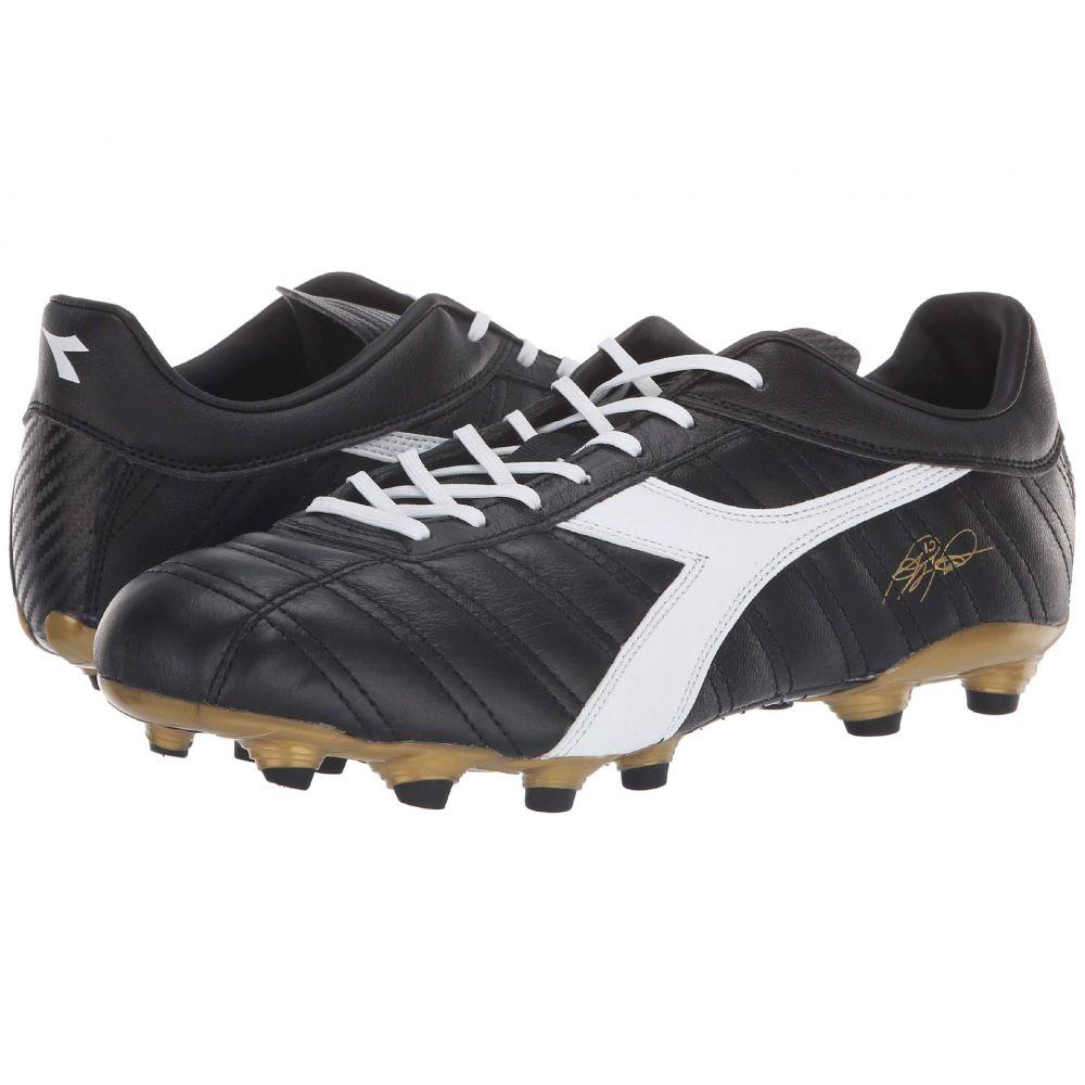 ディアドラ Diadora レディース サッカー シューズ・靴【Baggio 03 K MG14】Black/White/Gold