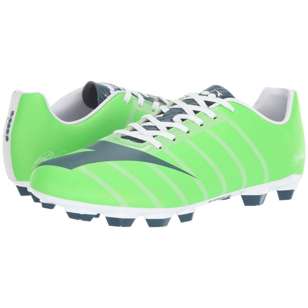 ディアドラ Diadora レディース サッカー シューズ・靴【RB2003 R LPU】Green Fluo/Atlantic