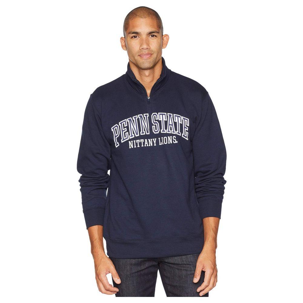 チャンピオン Champion College メンズ トップス【Penn State Nittany Lions Powerblend 1/4 Zip】Navy