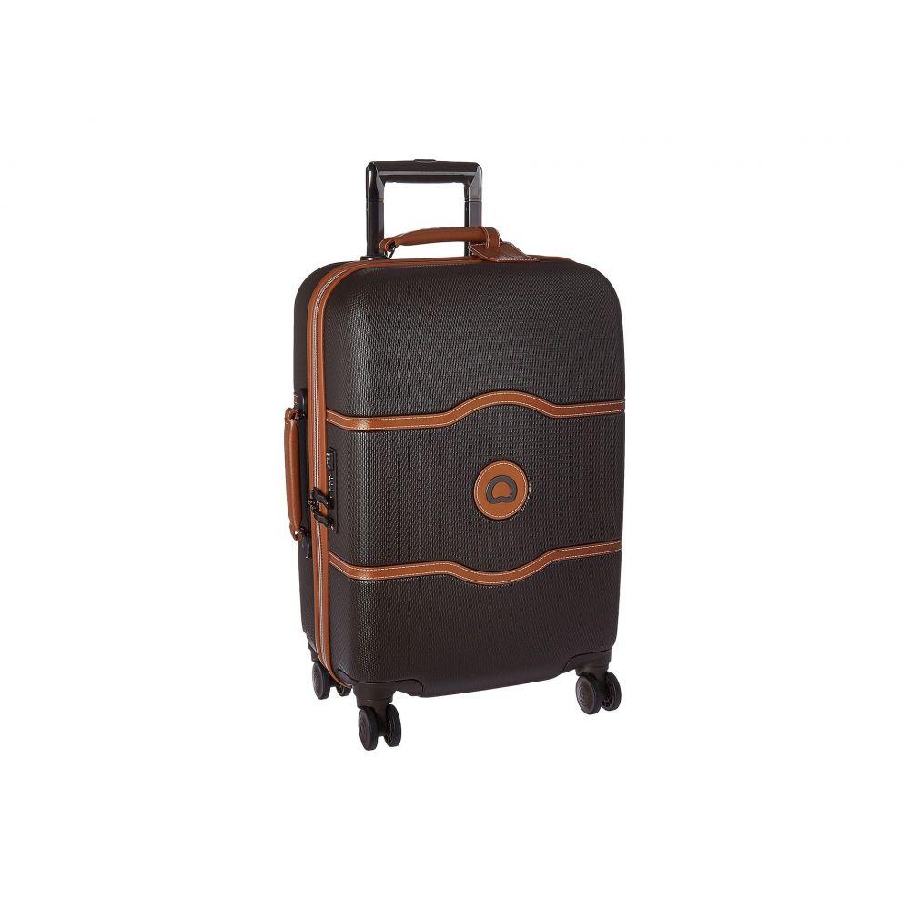 デルシー Delsey レディース バッグ スーツケース・キャリーバッグ【Chatelet Hard - 21' Carry-On Spinner Trolley】Chocolate