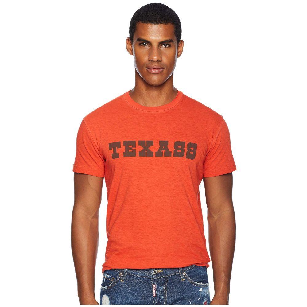ディースクエアード DSQUARED2 メンズ トップス Tシャツ【Tex T-Shirt】Deep Red