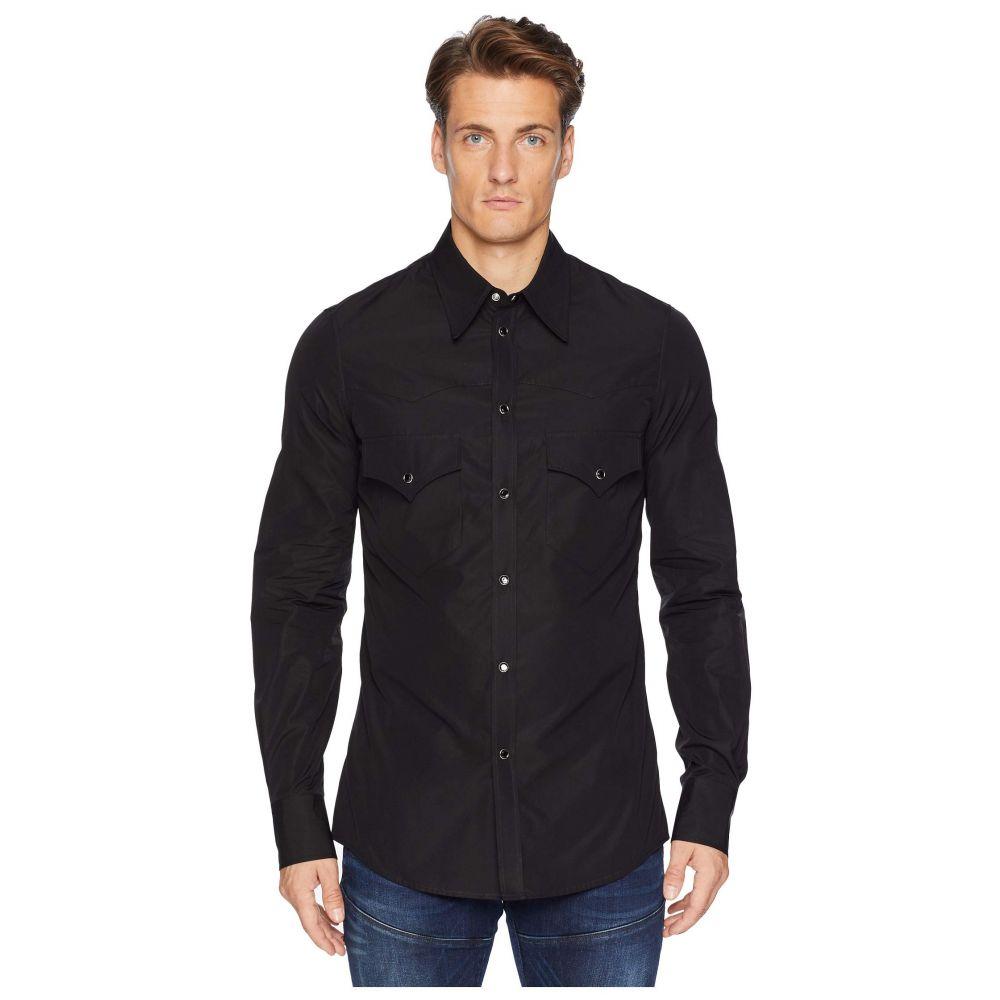 ディースクエアード DSQUARED2 メンズ トップス シャツ【Poplin Western Shirt】Black