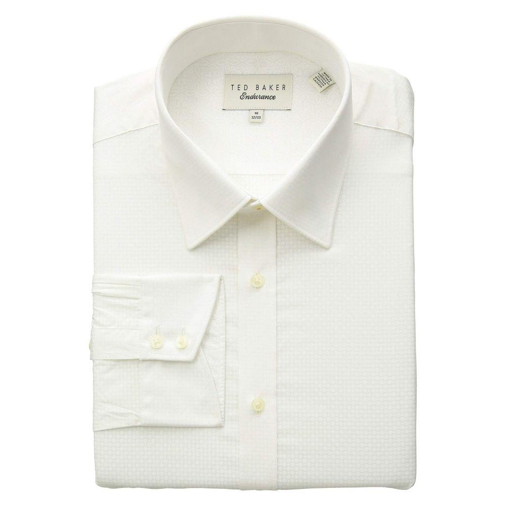テッドベーカー Ted Baker メンズ トップス シャツ【Mixx Performance Dress Shirt】White
