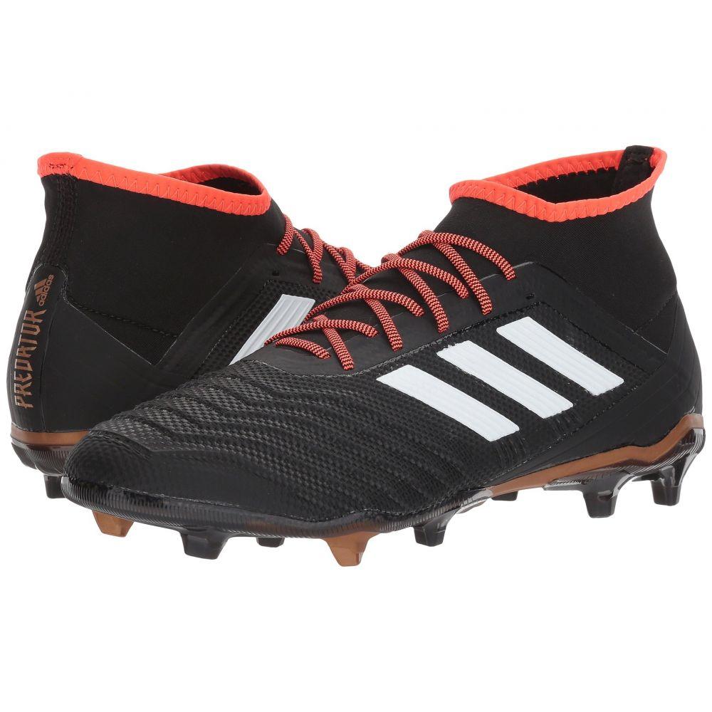 アディダス adidas メンズ サッカー シューズ・靴【Predator 18.2 FG】Black/White/Solar Red