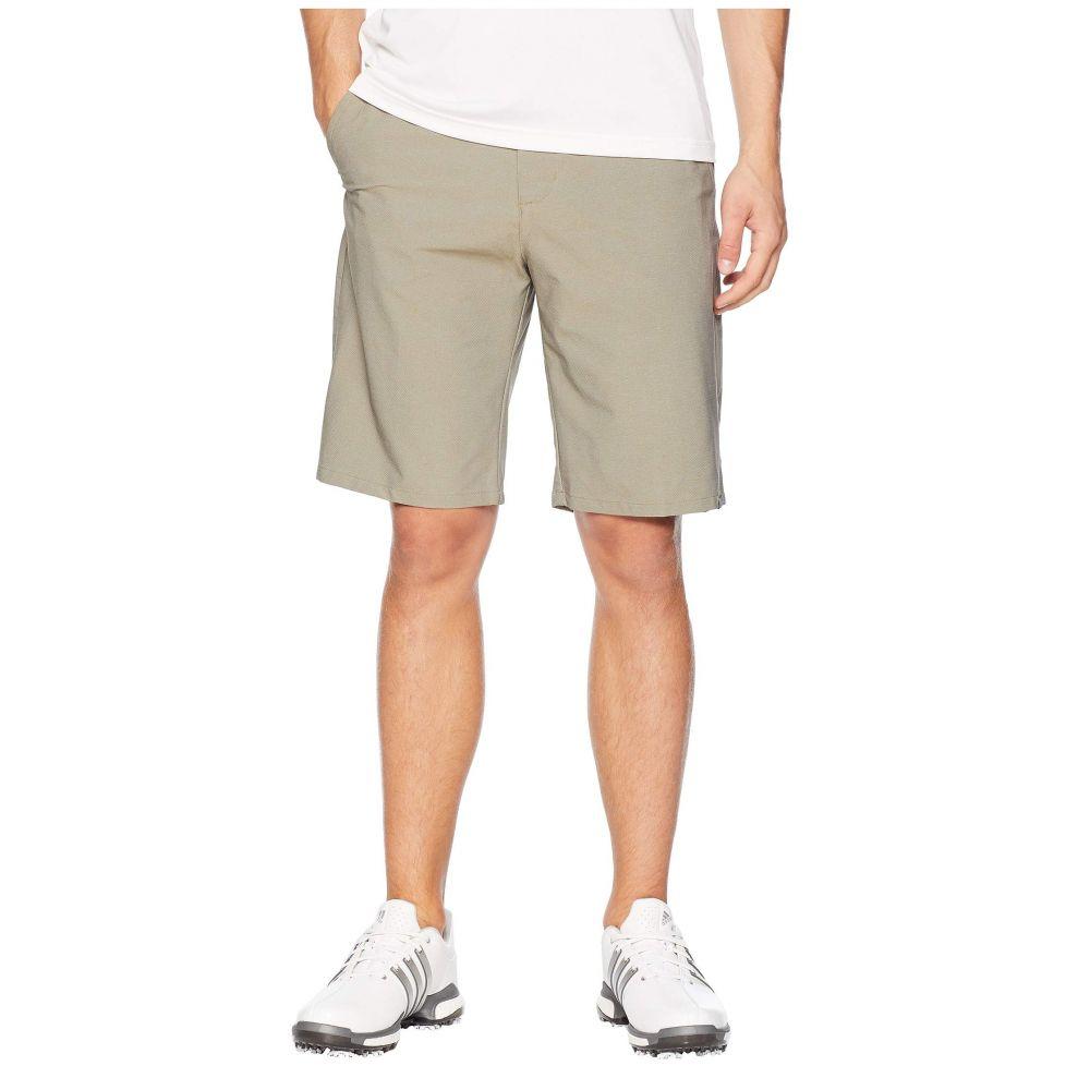 アディダス adidas Golf メンズ ボトムス・パンツ ショートパンツ【Ultimate Twill Crosshatch Shorts】Tactile Khaki