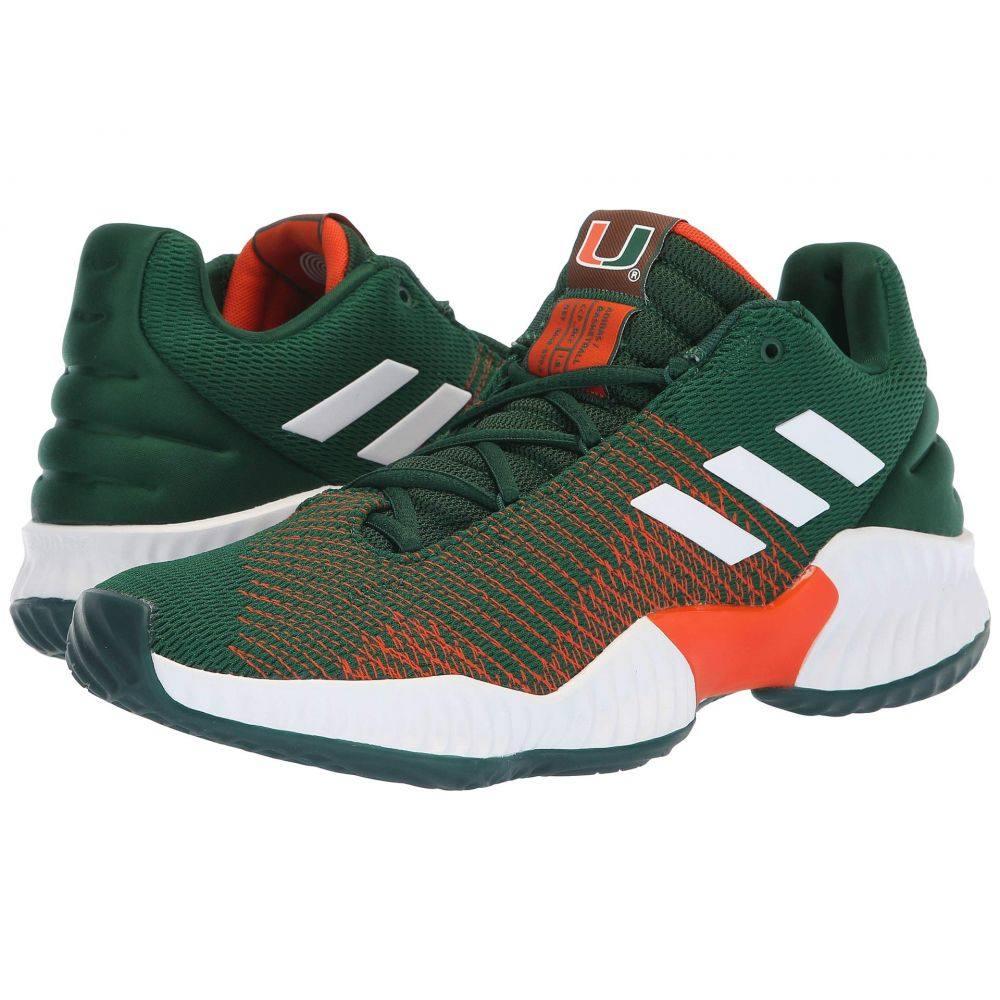 アディダス adidas メンズ バスケットボール シューズ・靴【Pro Bounce Low】Dark Green/White/Orange