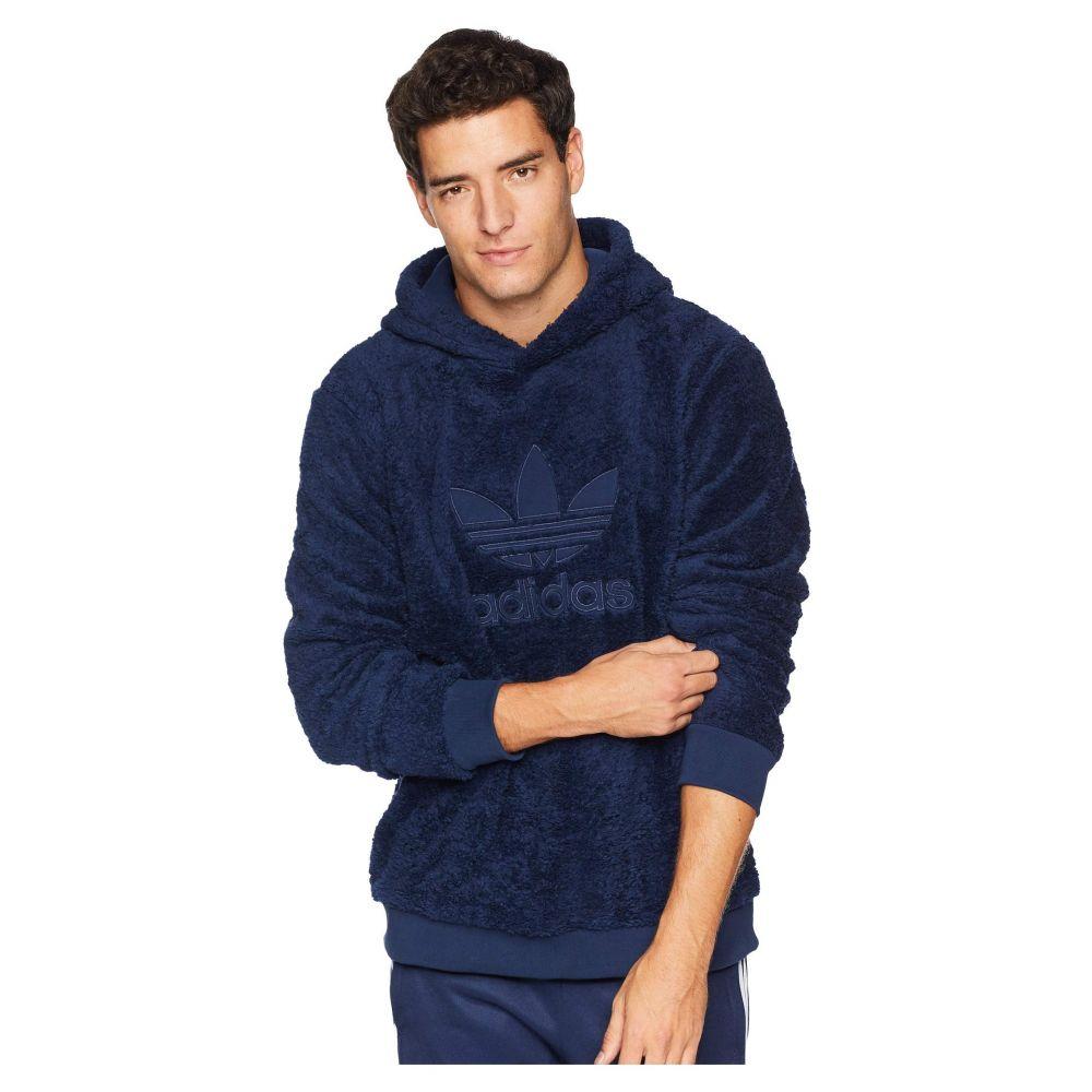 アディダス adidas Originals メンズ トップス パーカー【Winterized Pullover Hoodie】Collegiate Navy