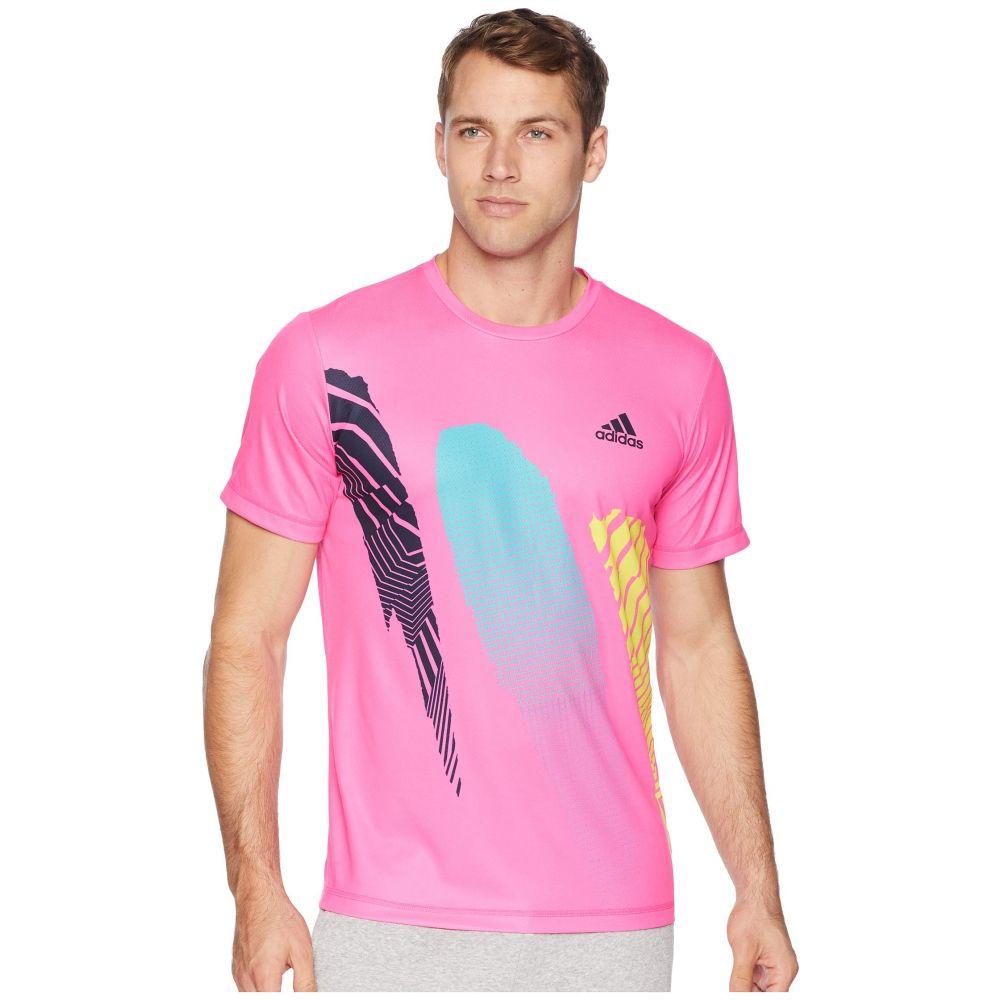 アディダス adidas メンズ トップス Tシャツ【Seasonal Tee】Shock Pink