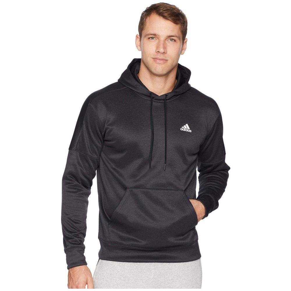 アディダス adidas メンズ トップス フリース【Team Issue Fleece Pullover Hoodie】Black Metallic