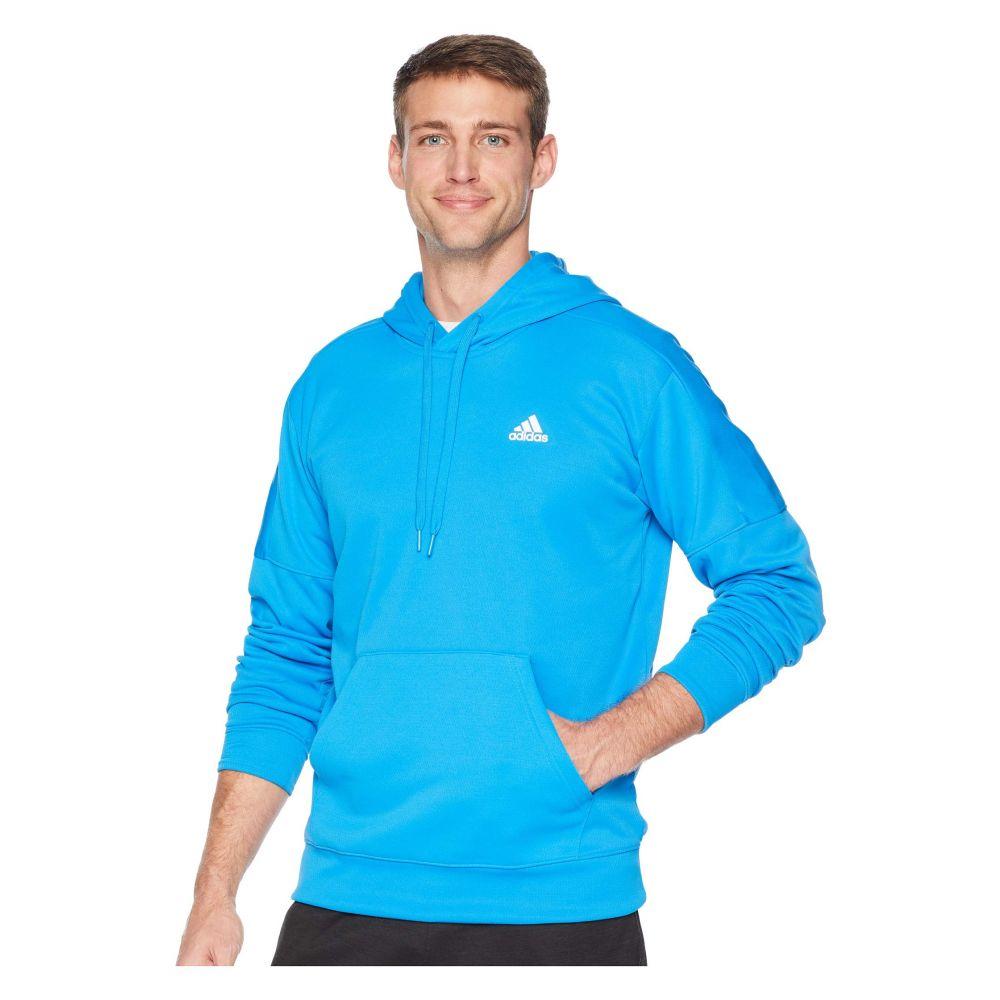 アディダス adidas メンズ トップス フリース【Team Issue Fleece Pullover Hoodie】Bright Blue