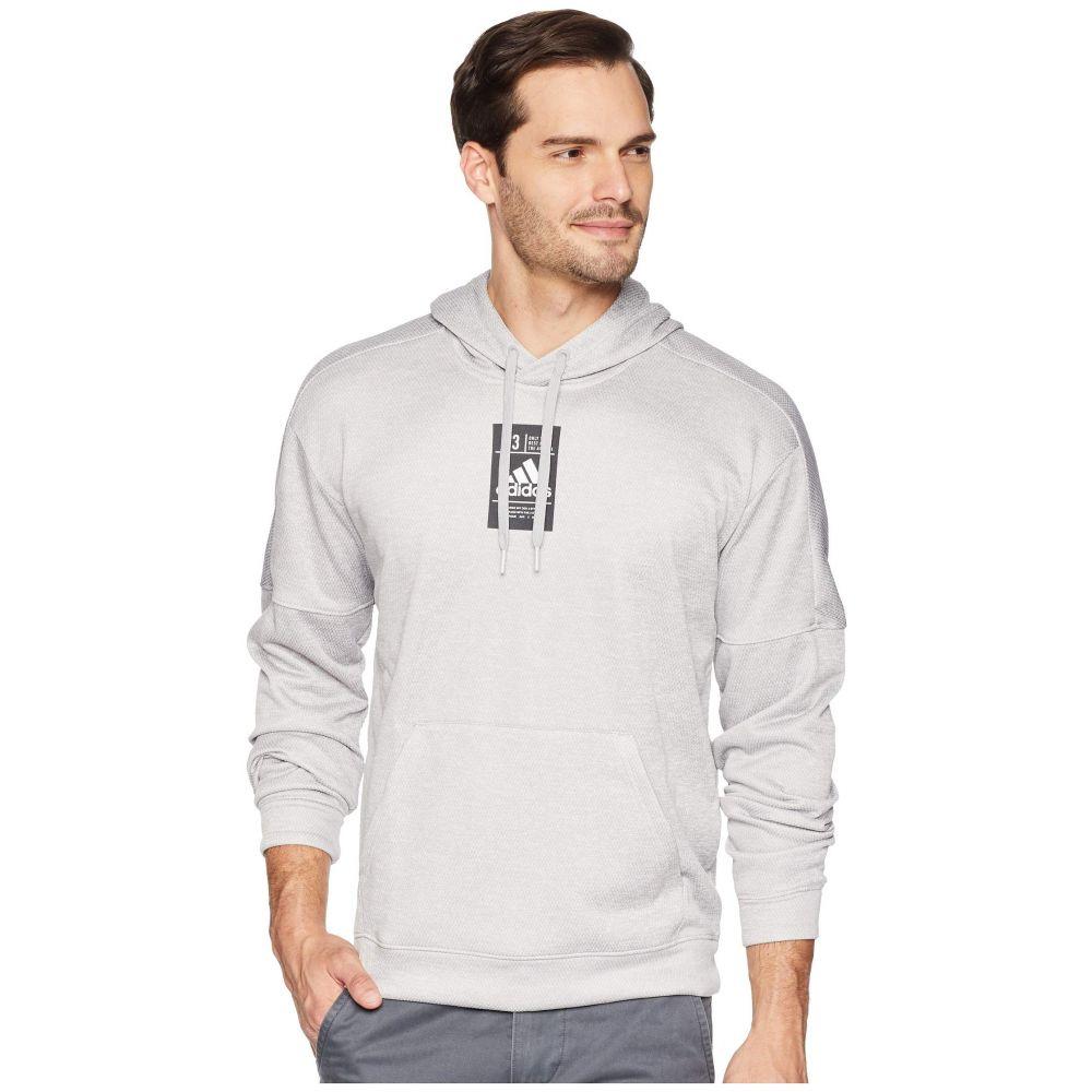 アディダス adidas メンズ トップス パーカー【Team Issue Patch Hoodie】Medium Grey Heather Melange