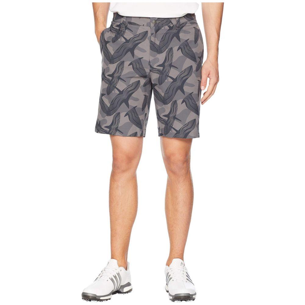 アディダス adidas Golf メンズ ボトムス・パンツ ショートパンツ【Ultimate Raven Print Shorts】Grey Five